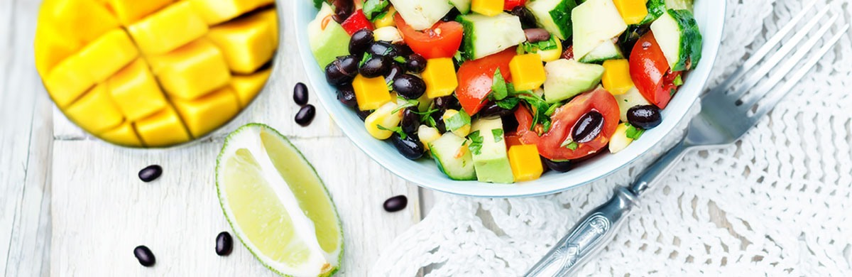 fiesta black bean salad recipe